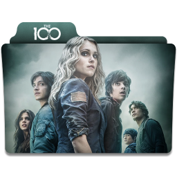 256x256px size png icon of The 100