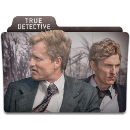 256x256px size png icon of True Detective