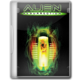 256x256px size png icon of 05 Alien Resurrection 1997