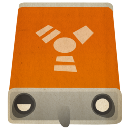 256x256px size png icon of hd firewire