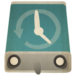 256x256px size png icon of hd timemachinehd