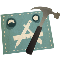 256x256px size png icon of xcode