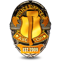 256x256px size png icon of Badge