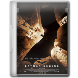 256x256px size png icon of Batman Begins 1