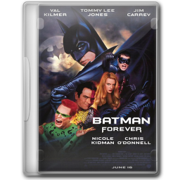 256x256px size png icon of Batman Forever 1