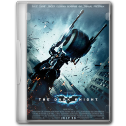 256x256px size png icon of The Dark Knight 1