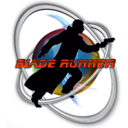 256x256px size png icon of blade runner