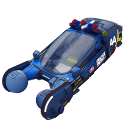 256x256px size png icon of police spinner car