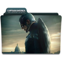 256x256px size png icon of Captain America Winter Soldier Folder 2