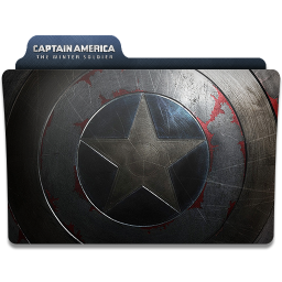 256x256px size png icon of Captain America Winter Soldier Folder 3
