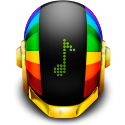 256x256px size png icon of Guyman Helmet Music