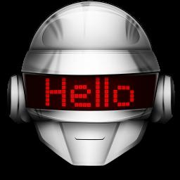 256x256px size png icon of Thomas Hello