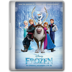 256x256px size png icon of Frozen 5