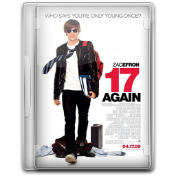256x256px size png icon of 17 Again