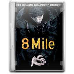 256x256px size png icon of 8 Mile