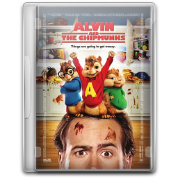 256x256px size png icon of Alvin And The Chipmunks 2 v2
