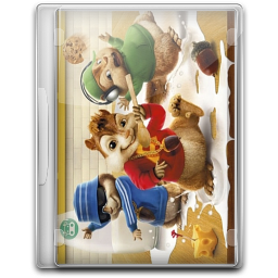256x256px size png icon of Alvin And The Chipmunks v6