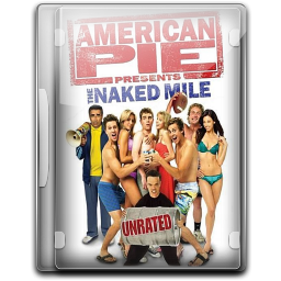 256x256px size png icon of American Pie The Naked Mile