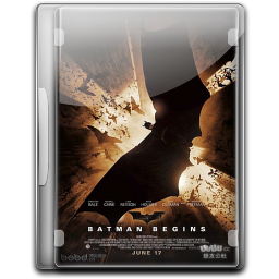 256x256px size png icon of Batman The Begins v3