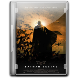 256x256px size png icon of Batman The Begins v4