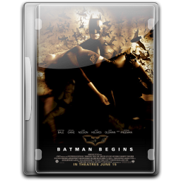 256x256px size png icon of Batman The Begins v5