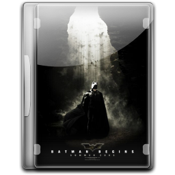256x256px size png icon of Batman The Begins v6