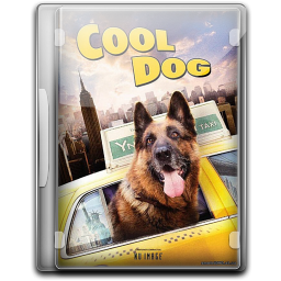 256x256px size png icon of Cool Dog