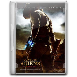 256x256px size png icon of Cowboys And Aliens v2