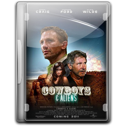 256x256px size png icon of Cowboys And Aliens v3