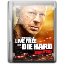 256x256px size png icon of Die Hard 4