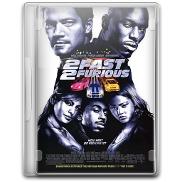 256x256px size png icon of Fast And Furious 2 Fast 2 Furious