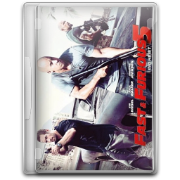 256x256px size png icon of Fast And Furious 5 Fast 5 v3