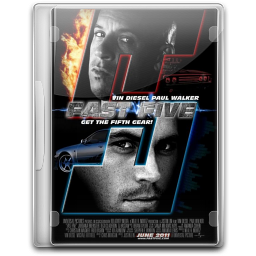 256x256px size png icon of Fast And Furious 5 Fast 5 v4