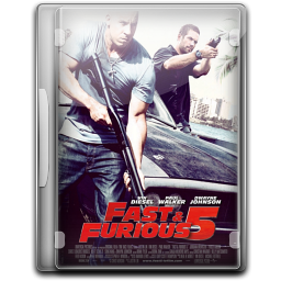 256x256px size png icon of Fast And Furious 5 Fast 5 v6