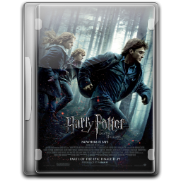 256x256px size png icon of Harry Potter And The Deathly Hallow