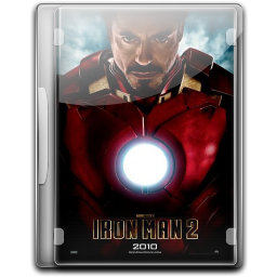 256x256px size png icon of Ironman 2 v3