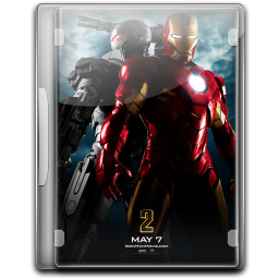 256x256px size png icon of Ironman 2 v4