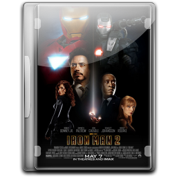 256x256px size png icon of Ironman 2