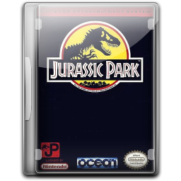 256x256px size png icon of Jurassic Park v2