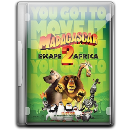 256x256px size png icon of Madagascar 2 Escape Africa