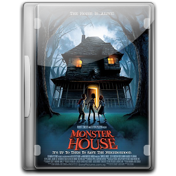 256x256px size png icon of Monster House