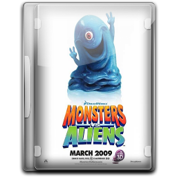 256x256px size png icon of Monsters Vs Aliens v2