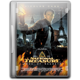 256x256px size png icon of National Treasure Book Of Secrets