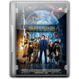 256x256px size png icon of Night At The Museum 2