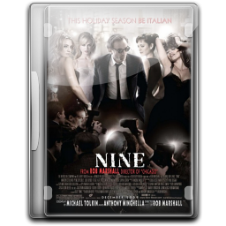 256x256px size png icon of Nine