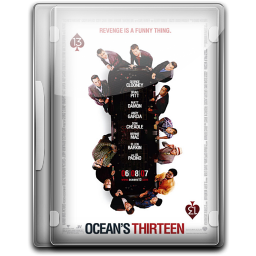 256x256px size png icon of Ocean 13 v3