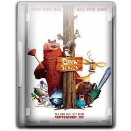 256x256px size png icon of Open Season