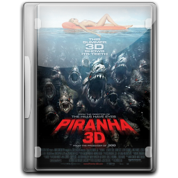 256x256px size png icon of Piranha 3D