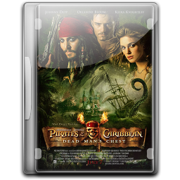 256x256px size png icon of Pirates Of The Caribbean Dead Mans Chest v2