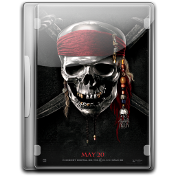 256x256px size png icon of Pirates Of The Caribbean On Stranger Tides v2